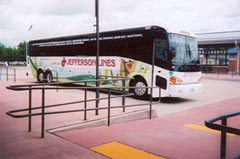 Jefferson Lines Bus